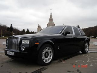Rolls-Royce Phantom Черный